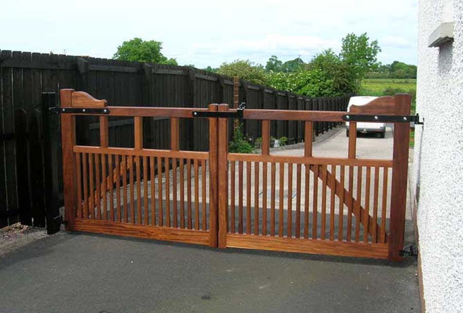 Bespoke joinery, Iroko Gates | Furniture Maker
